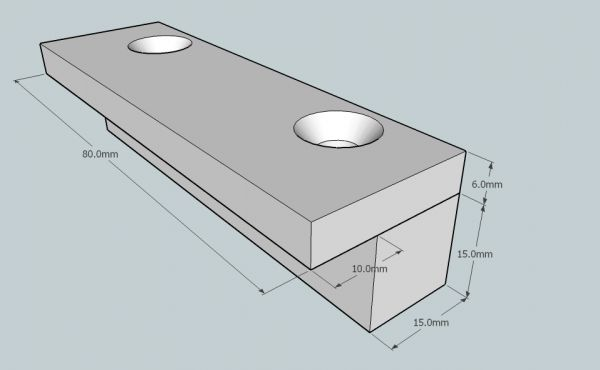 how to build a quarterpipe metric
