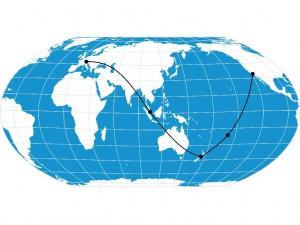 Round the world 2014